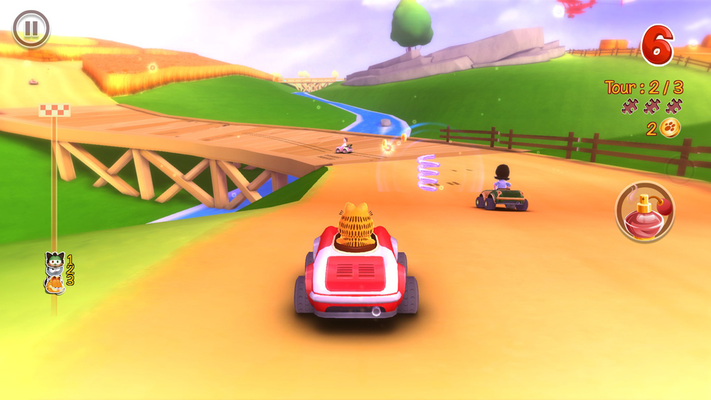 Garfield Kart New Details And Pictures Capsule Computers