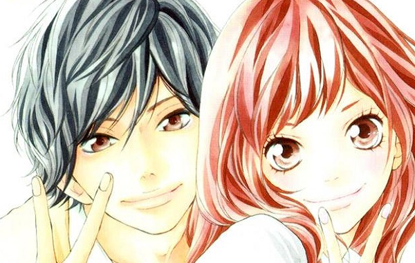 Image result for blue spring ride manga