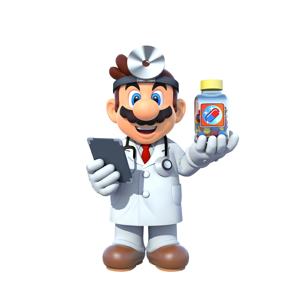 Dr Mario Miracle Cure Artwork 5 Capsule Computers