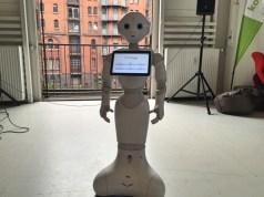 Roboter Pepper von SoftBank
