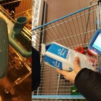 Supermarkt-Einkauf ohne Kassenschlange