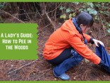 A Ladies Guide: How to Pee in the Woods | The Captain's Log | www.captainairyca.com