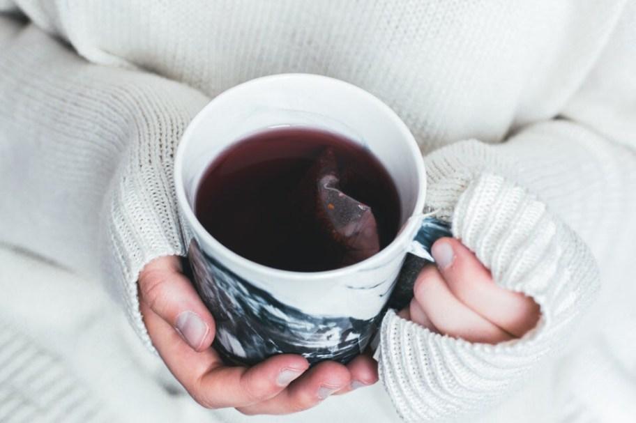 warm tea