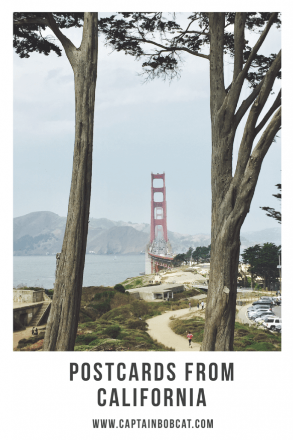Pinnable Postcards From California