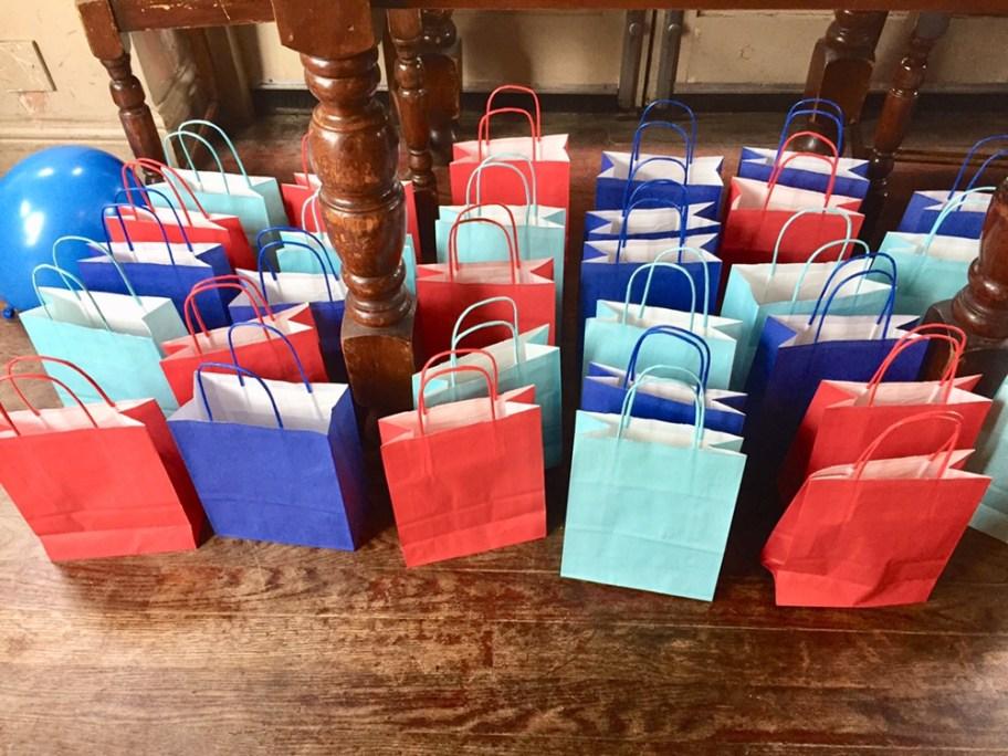 Thomas party bags