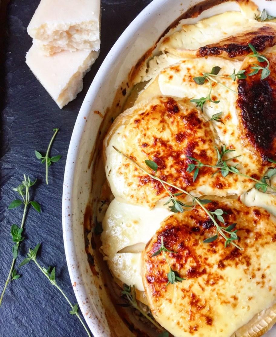 Creamy Turnip Dauphinoise