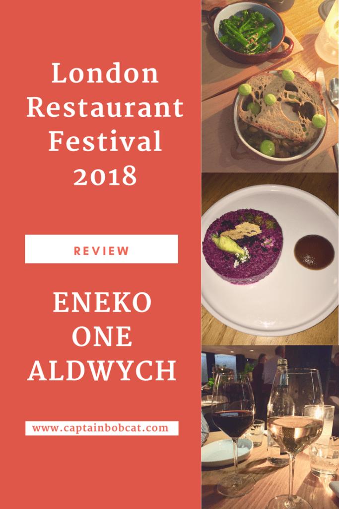 Review: Eneko One Aldwych - London Restaurant Festival 2018