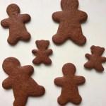 chocolate gingerbread men