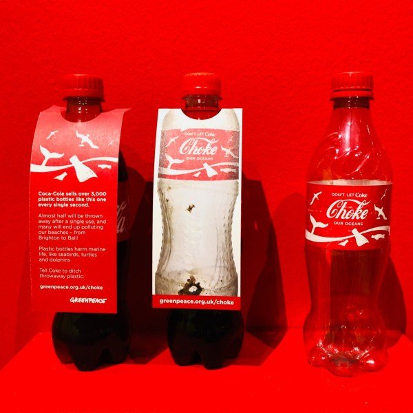 coca cola plastic bottle