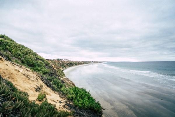 california beach sea