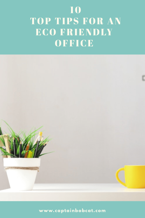 10 Top Tips For An Eco Friendly Office