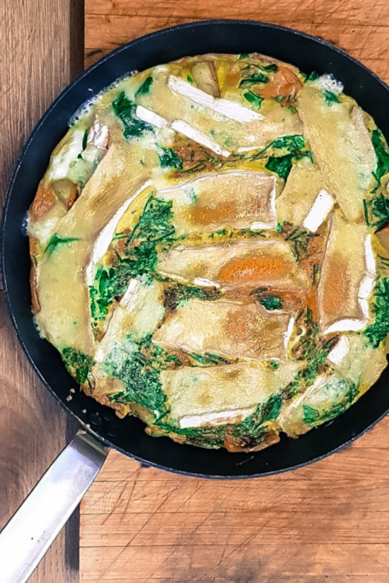 Slimming Brie & Herb Frittata