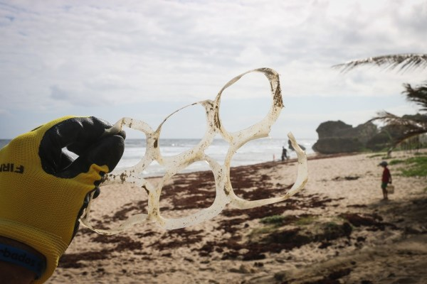 plastic beach: Plastic Free July