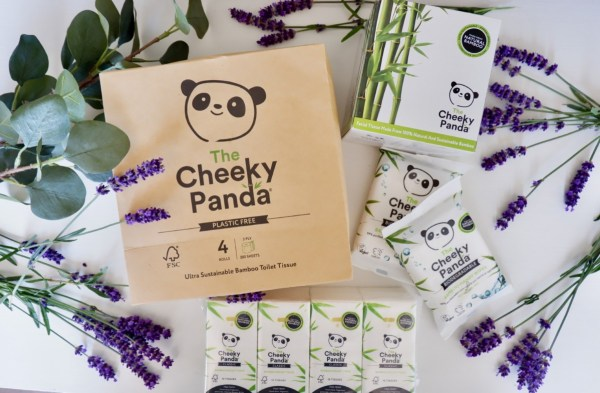 cheeky panda bamboo wipes