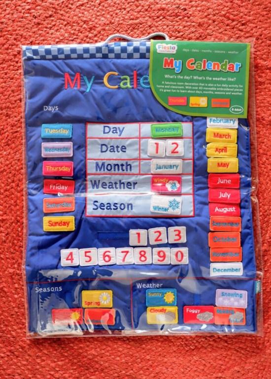 fabric calendar