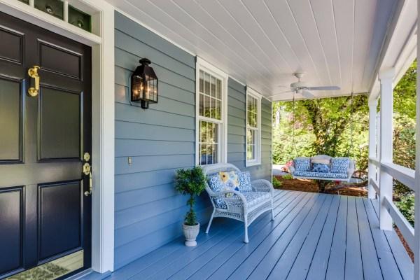 porch house front door