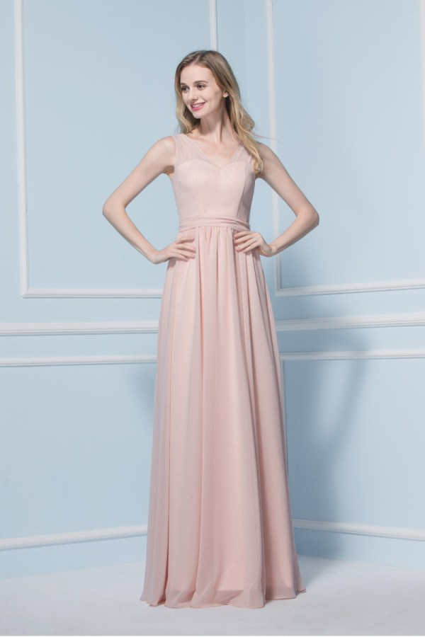pink bridesmaid dress one post only