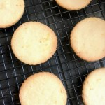 vegan lemon biscuits