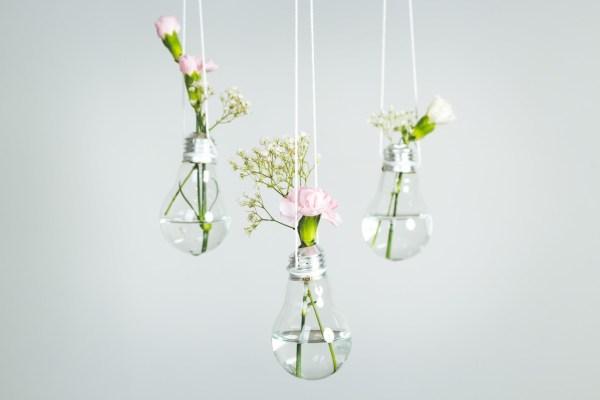 bulb vase: upcycle day
