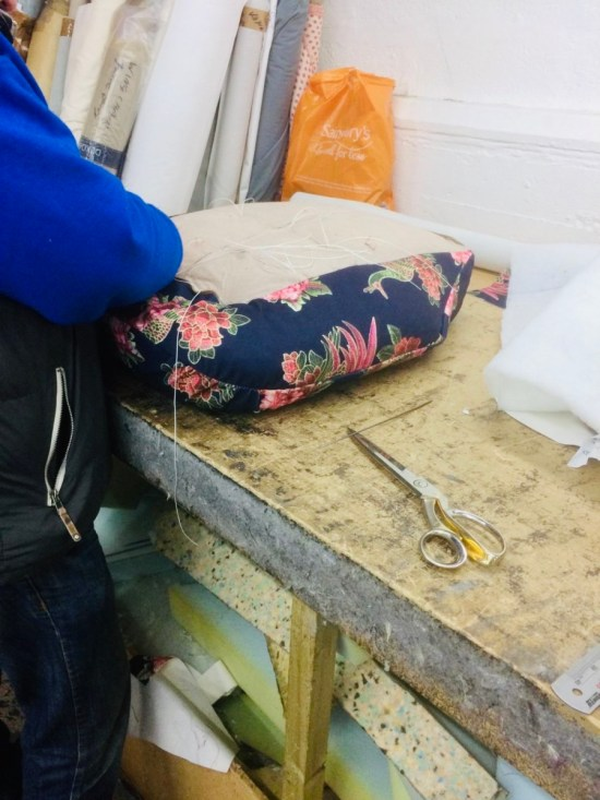 old arm chair: upcycle instead of buying new