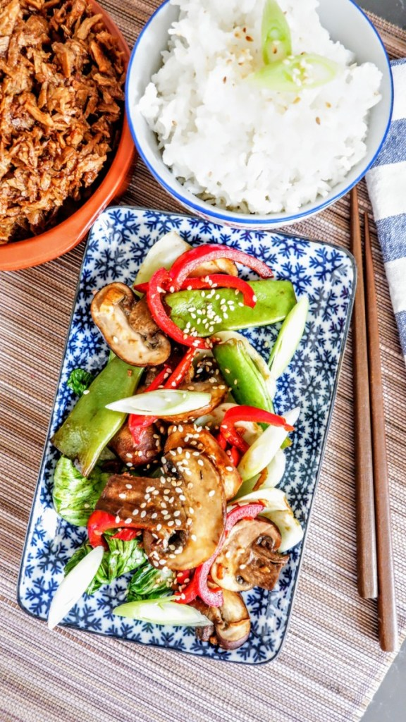 Simple Oriental Stir Fry (Vegan Recipe)
