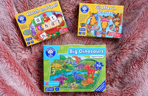 orchard toys: plastic free birthday gifts