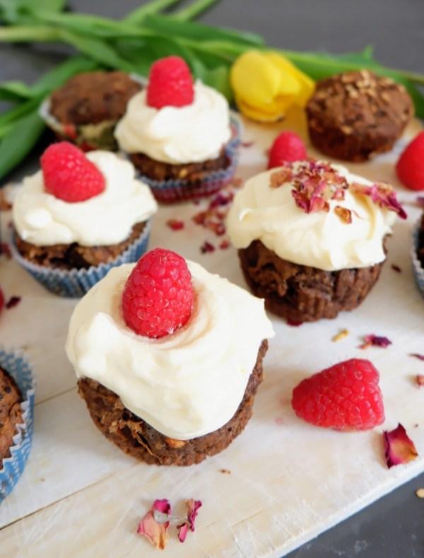 sweet potato carob cupcakes