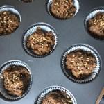 Sweet Potato - Carob Cupcakes With Cinnamon
