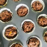 vegan chocolate orange cupcakes and combine.