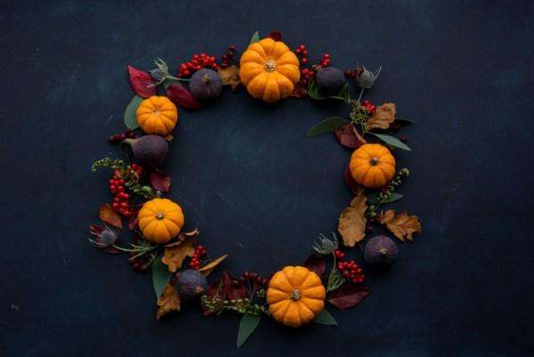 autumn halloween decoration