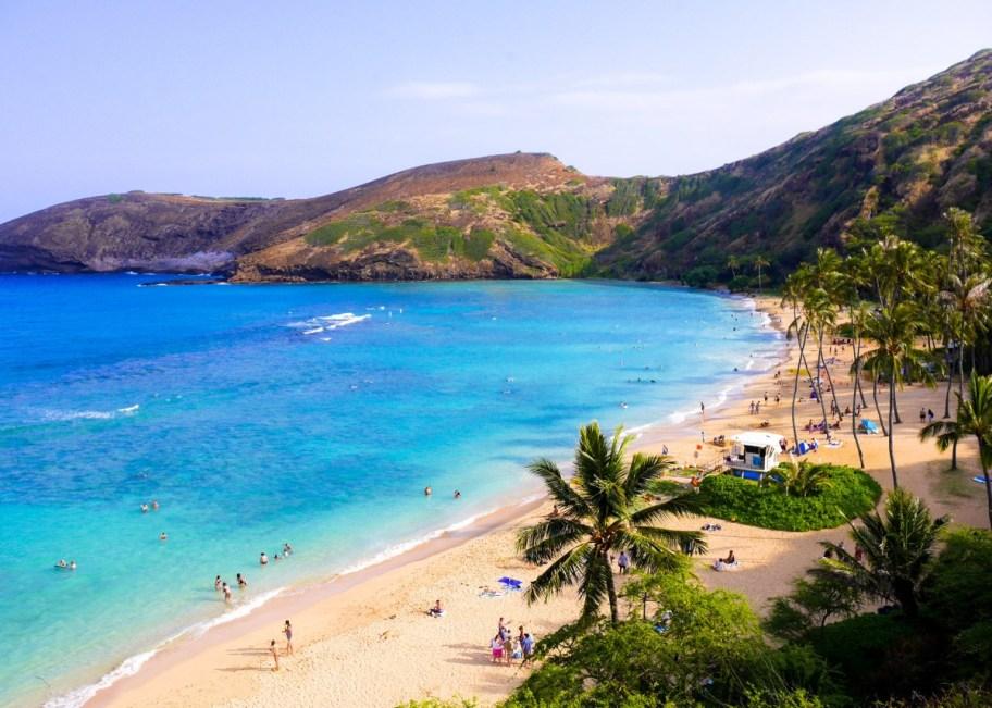 hawaii america beach