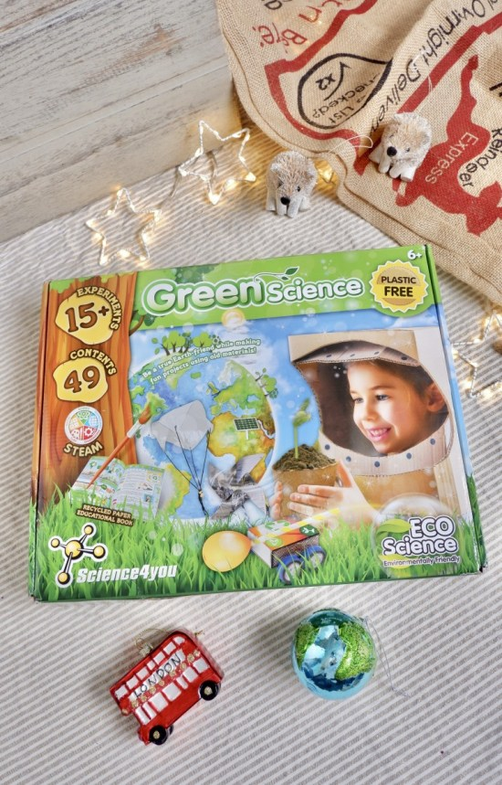 Green Science toy: Ethical Christmas Gifts For Kids