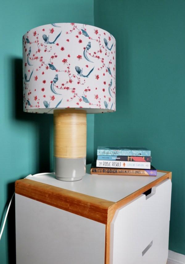 green and heath lampshade interior