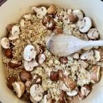 Asparagus and Mushroom Pilaf (Vegan)