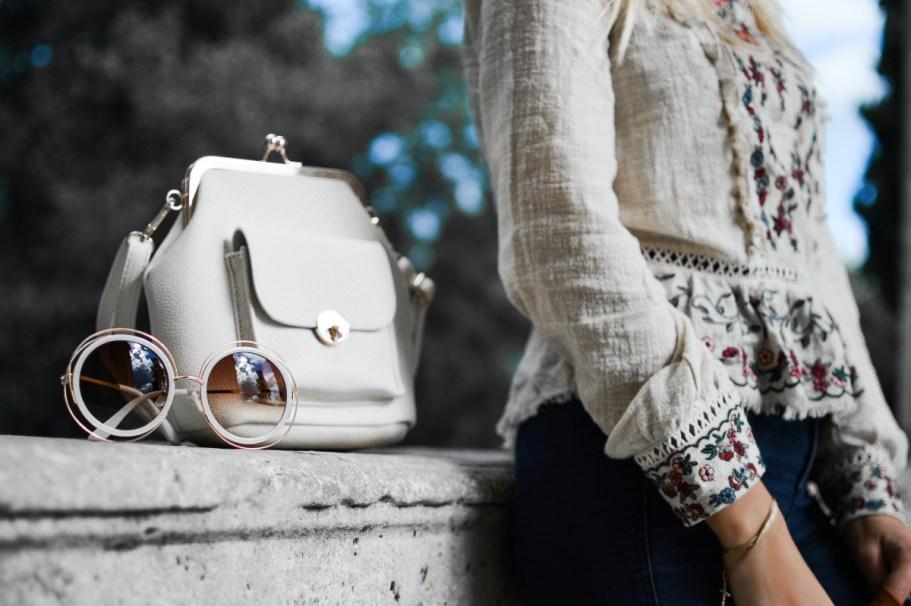 fashion bag sunglasses