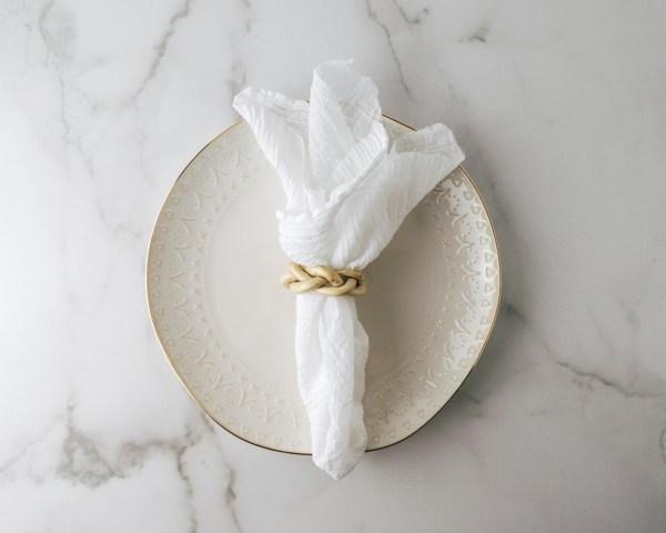 napkin plate