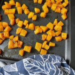 Wholewheat Couc Cous With Roasted Butternut Squash And Kale Salad
