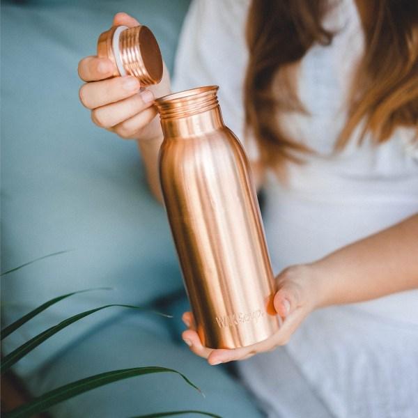 copper globalwakecup bottle