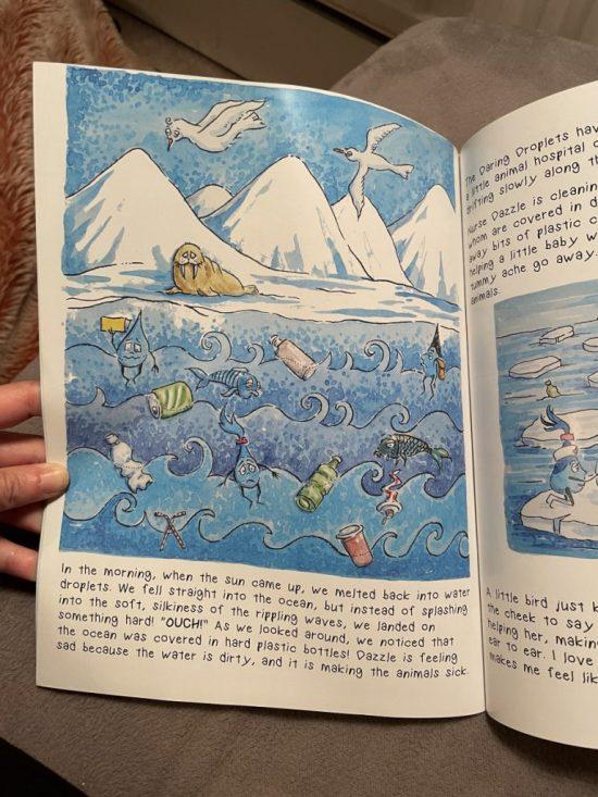 Daring droplets books