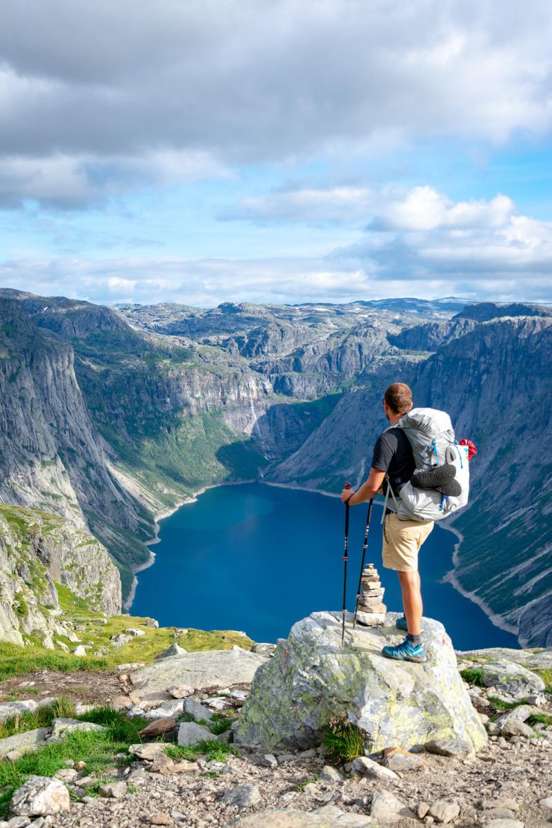 trekking mountain climbing