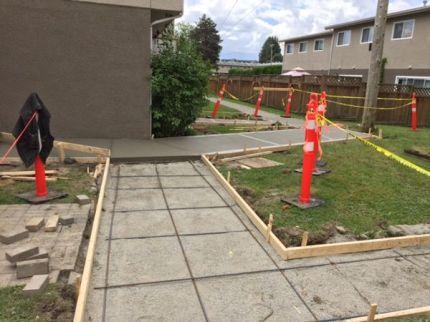 Concrete Forms for sidewalk