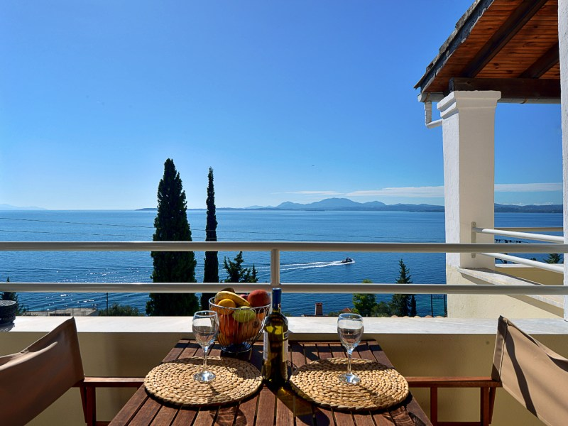 Studio with a sea view in Barbati Corfu