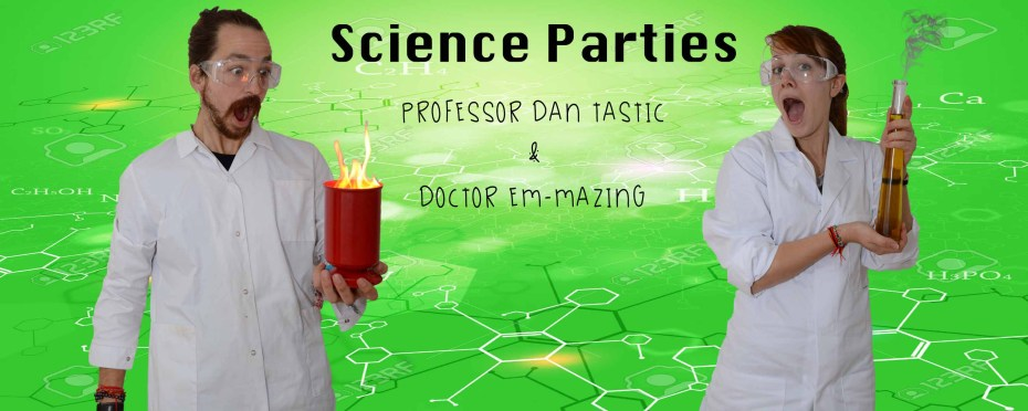 science party dan tastic science parties