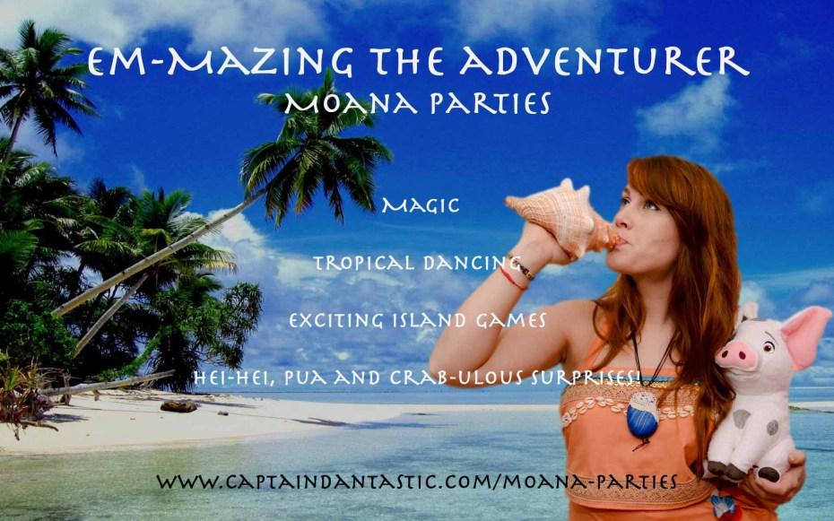 moana parties