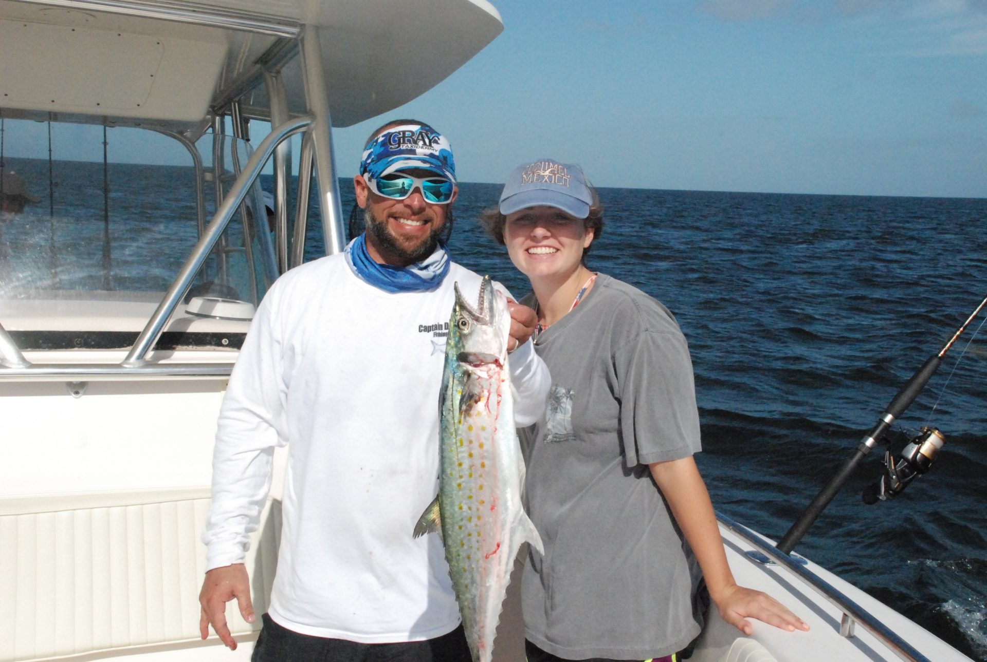 The Spanish mackerel run off Marathon is in full force. Mackerel charters are very productive this time of year.
