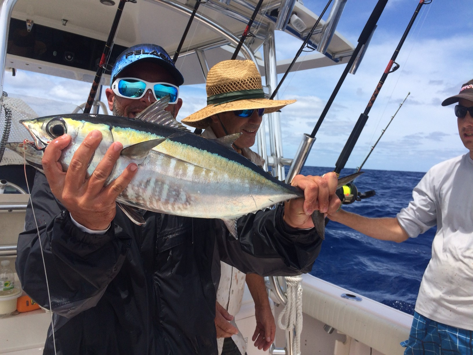 Blackfin tuna are biting at the humps off Marathon. Call Capt. Doug for your next Florida Keys fishing charter.