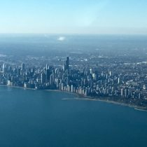 Hello Chicago! Crystal clear day in the Windy City!