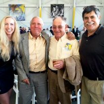 I was in the most amazing company for Bob Hoover's Life Celebration! With airshow greats Rob Harrison (Tumbling Bear), Wayne Handley (Raven), and John Collver (War Dog)!