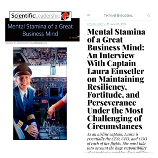 My Thrive Global interview on Mental Stamina, Resiliency, Fortitude, and Perseverance!