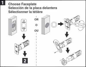 Schlage B60 Installation Guide  Works For B60CS, B60F, and B62